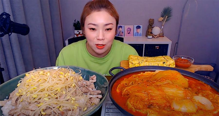 出典:韓国モッパン ユーチューバー「입짧은 햇님」
