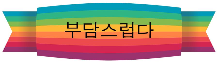 【中級】韓国語「부담스럽다(プダムスロプタ)」を覚える