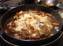 ペク鉄板チーズタッカルビ 鍋
